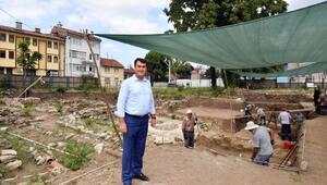 Bursada arkeopark kazılarında sona gelindi