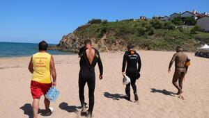 Şilede denizde kaybolan 17 yaşındaki genci arama çalışmaları 3. gününde