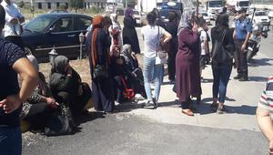 Yolcu otobüsü TIRa çarptı: 6 yaralı