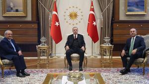 Cumhurbaşkanı Erdoğan Özbekistan Dışişleri Bakanı Kamilov ile görüştü