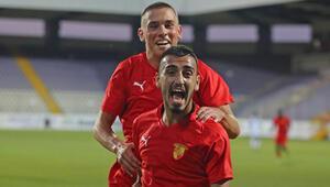 Göztepe, Difaa El Jadidayı tek golle yendi