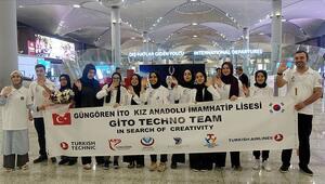 Güngörenli öğrenciler robot yarışmasında Türkiyeyi temsil edecek