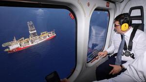 Son dakika Yavuz gemisi sondaja başladı İşte ilk görüntüler