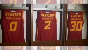 Galatasarayda 3 imza Webster, Harrison ve Auguste takımda kaldı...