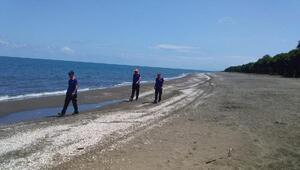 Samsunda denizde kaybolan genç, 12 gündür aranıyor