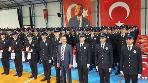 Rizede 551 polis adayı mezun oldu