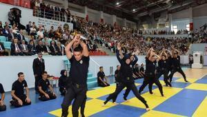 Arnavutköy Polis Okulundan mezun olan 714 polis için tören düzenlendi