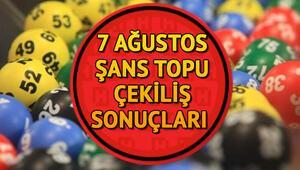 Şans Topu haftaya devretti 7 Ağustos Milli Piyango Şans Topu çekiliş sonuçları