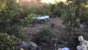 Kontrolden çıkan otomobil şarampole devrildi: 4 yaralı
