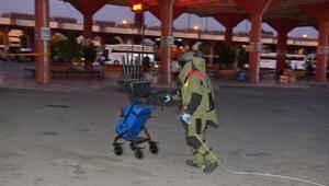 Adana Otogarında unutulan çanta, polisi alarma geçirdi