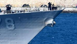 ABD savaş gemisi USS Porter, Çanakkale Boğazından geçti