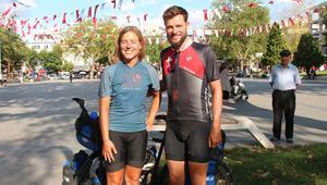 4 ayda 8 bin kilometre Türkiye'ye ulaştılar