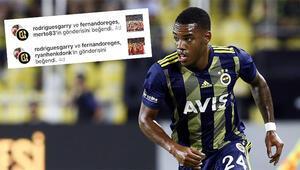 Rodriguesten olay hareket Galatasaray paylaşımlarını beğendi...