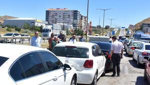 Kırıkkalede zincirleme trafik kazası