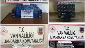 Vanda 800 paket kaçak sigara ele geçirildi