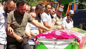 Balayı dönüşü kazada ölen Semraya gözyaşlarıyla veda
