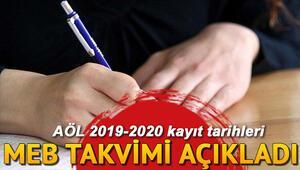 Açık Öğretim Lisesi kayıtları ne zaman başlıyor 2019-2020 AÖL yeni dönem kayıt tarihleri