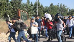 Ülkelerine bayram için giden Suriyelilerin sayısı 38 bini aştı