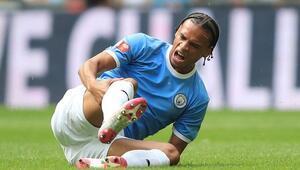 Manchester Cityde Sane en az 6 ay yok Guardiola şokta...