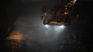 Madeni yağ deposunda yangın