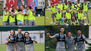 Trabzonsporda Sparta Prag maçı hazırlıkları sürüyor