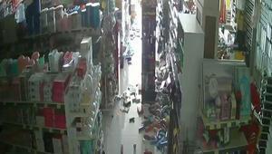 Denizli'de deprem anının yeni görüntüleri ortaya çıktı