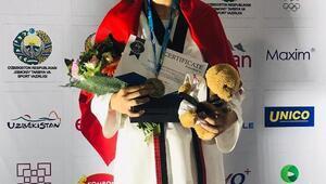 Milli tekvandocu Zehra Begüm Kavukcuoğlu, dünya şampiyonu