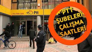 Kurban Bayramında PTT şubeleri açık mı PTT çalışma saatleri