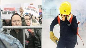 Üç süper gücün protesto dalaşı