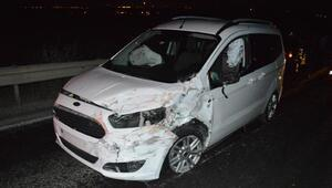 Çubukta zincirleme kaza: 1 ölü, 2 yaralı
