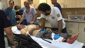 Kurbanlık yerine kendilerini kestiler Acemi kasaplar hastanelere akın etti...