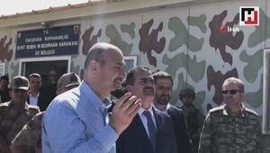 Cumhurbaşkanı Erdoğan üs bölgesindeki askerlerin bayramını tebrik etti