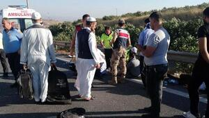 Otobüsün çarptığı araçtaki 5 kişi yaralandı