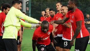 Gazişehir Gaziantepte Fenerbahçe maçı hazırlıkları