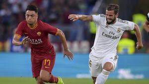 Cengiz Ünderin gol attığı maçta Roma, Real Madridi devirdi