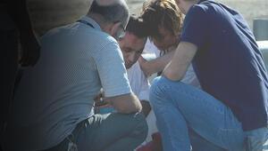 TEMde feci kaza... Vatandaşlar yardıma koştu