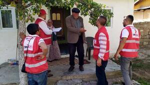 Muradiyede Türk Kızılayı 150 aileye kurban eti dağıttı