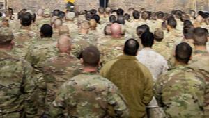 Müşterek Harekat Merkezi için ABDli askerler Şanlıurfada