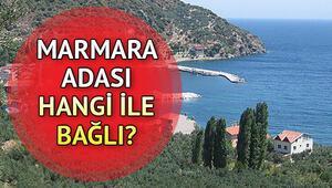 Marmara Adası harita üzerinde nerede Marmara Adası hangi ilde