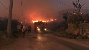 Marmara Adasındaki yangın