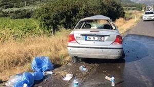 Otomobil takla attı: 2si çocuk 6 yaralı