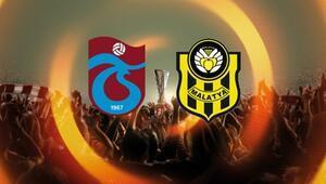 Trabzonspor ile Yeni Malatyaspor, Avrupa Liginde tur peşinde