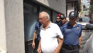 Marmara Adasında gözaltına alınan baba- oğul adliyede