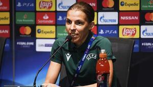 UEFA Süper Kupayı kadın hakem Frappart yönetecek İşte karnesi...