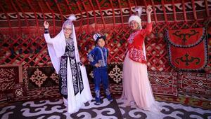 Kapadokyadaki Kırgız Obasında Türk kültürünü tanıtıyorlar