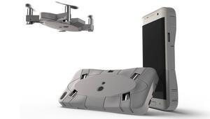 Akıllı telefon kılıfına gizli drone Selfly Türkiyede