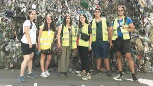 Halka açık plastik geri dönüşüm merkezi