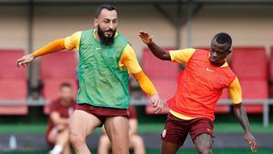Galatasarayda Denizlispor maçı hazırlıkları