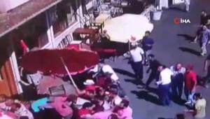 Büyükadadaki faytonculalra akülü araç taşımacıları arasında kavga