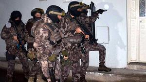 Bursada terör operasyonu: 7 gözaltı